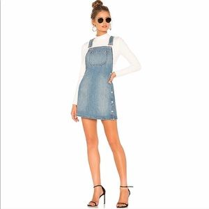 Free People Louise Overall Skirt